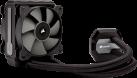 CORSAIR H80i v2 - Refroidisseur pour processeur - Refroidisseur liquide - Noir