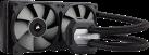 CORSAIR H100i v2 - Refroidisseur pour processeur - Refroidisseur liquide - Noir
