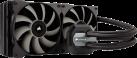 CORSAIR H115i - Refroidisseur liquide pour processeur - Radiateur de 280 mm - Noir