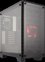 CORSAIR 460X - Mid-Tower-Gehäuse - USB 3.0 - Schwarz