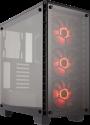 CORSAIR 460X RGB - Mid-Tower-Gehäuse - USB 3.0 - Schwarz
