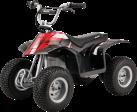 Razor Dirt Quad - Quad - Max. 54 kg - Rot/Schwarz