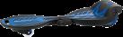 Razor RipStik Electric - Elektrisches Waveboard - 16 km/h - Blau/Schwarz