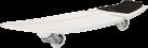 Razor Ripsurf Ripstik - Waveboard - Résistance: 100 kg - Noir/Blanc