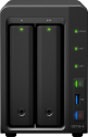 Synology DiskStation DS716+II - Server NAS - 2 alloggiamenti - Nero
