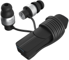 ZAGG IFROGZ Impulse - Cuffie In Ear - Bluetooth - Nero/Argento