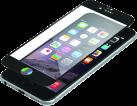 INVISIBLESHIELD Glass Contour iPhone 7 Screen Black - Protection d'écran - Noir/Transparent