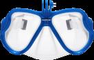 SANDMARC Aqua Mask - Taucherbrille für HERO - Passend für alle GoPro - Blau