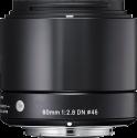 SIGMA Art | 60mm F2.8 DN Micro 4/3, nero
