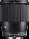 SIGMA 16mm F1.4 DC DN Contemporary - Weitwinkelobjektiv - für Sony E - Schwarz