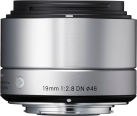 SIGMA Art | 19mm F2.8 DN Micro 4/3, argento