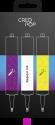 CreoPop Sélection des Encres - Violet/Blanc/Jaune