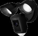 ring Floodlight Cam - Überwachungskamera - 1080p HD - Wi-Fi - Schwarz