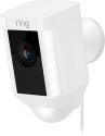 ring Spotlight Cam Wired - Überwachungskamera - 1080p HD - Wi-Fi - Weiss