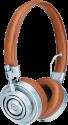 MASTER & DYNAMIC MH30 - On-Ear Kopfhörer - 32 Ohm - Silber/Braun