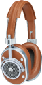 MASTER & DYNAMIC MH40 - Cuffie Over-Ear - 32 Ohm - Argento/Marrone