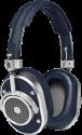 MASTER & DYNAMIC MH40 - Over-Ear Kopfhörer - 32 Ohm - Blau/Silber