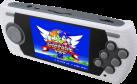 Sega Mega Drive - Portatile consolle - 3.2 LCD display - Bianco