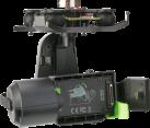 3DR Solo 3 Axis Action Gimbal - Für GoPro Hero3+ und Hero4 - Schwarz
