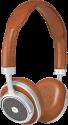 MASTER & DYNAMIC MW50 - On-Ear Kopfhörer - Bluetooth - Braun/Silber