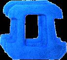 HOBOT Microfaser Pad zu HB 268 - Blau