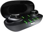 NUHEARA IQbuds - In-Ear Ohrhörer - Bluetooth - Schwarz/Silber