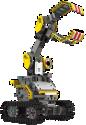 UBTECH Jimu Robot Builderbot - Sistema modulare robotizzato - Da 8 anni - Nero/Giallo