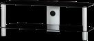 SONOROUS NEO2110 - Meuble TV - Dimension d'écran conseillée : - 42 - Noir/Argent