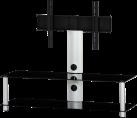 SONOROUS NEO130 - Meuble TV - Dimension d'écran conseillée : - 50 - Noir/Argent
