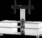 SONOROUS MD9095 - Meuble TV - Dimension d'écran conseillée : - 37 - Inox/Blanc