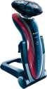 PHILIPS RQ1175/16 - Elektrischer Rasierer - Wet & Dry - Blau/Rot