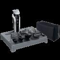PHILIPS Multigroom QG3380 Pro - Trimmer für Harre, Bart und Körperhaare - 100-240 V - Brushed Metal