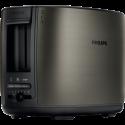 Philips HD2628/81 - Toaster - 7 Bräunungsstufen - Gebürstetes Titan