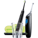 PHILIPS DiamondClean - Spazzolino elettrico + Sonicare AirFloss Ultra - Idropulsore