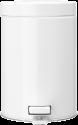 brabantia Mülleimer - 3 l - Weiss