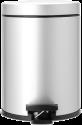 brabantia Mülleimer - 5 l - Metallic-grau