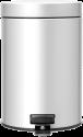 brabantia Mülleimer - 3 l - Metallic-grau