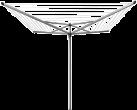 brabantia Topspinner, 50 m, silber