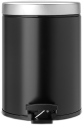 brabantia Mülleimer - 5 l - Schwarz