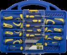 KINZO CR-V - Schraubendrehersatz - 31-teilig - Blau