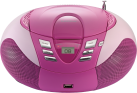 Lenco SCD-37 USB, rose