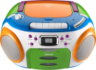 Lenco SCR-970 Kids - Ghettoblaster für Kinder - MP3, WMA