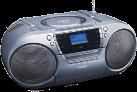 LENCO SCD 680 - Portabler Boombox - DAB+ Radio - Grau