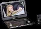 Lenco DVP-1210 - Lecteur DVD portable - 12 / 30.5 cm - Noir