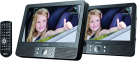 Lenco MES-405 - Lettore DVD portatile - 9 / 22.5 cm - Nero