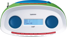 Lenco SCD-70 - Radio mit CD-Player - DAB+ - Multicolor