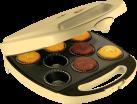 bestron DKP2828 - Machine à petits gâteaux - 1400 Watt - jaune