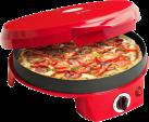 bestron APZ300 - Pizzaofen - 2 Heizelemente - Rot