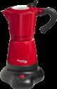 bestron AES480 - Espressomaschine - max. 6 Tassen - Rot