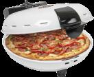 bestron DLD9036 - Pizza-Steinofen - 2 reflektierende Heizelemente - Weiss